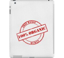 Free-Range Human iPad Case/Skin