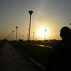 Diminishing Sun by sivagurun