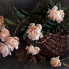 This Still Life with Peonies by Sviatlana Kandybovich