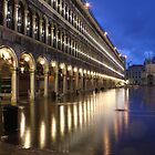 San Marco's Square, Venice, Italy (Sinking San Marco) * by Justin Mitchell