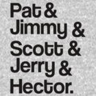 Train - Band Members - Pat, Jimmy, Scott, Jerry & Hector by ILoveTrain