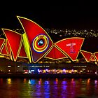 Play The Game - Sydney Vivid Festival - Sydney Opera House by Bryan Freeman