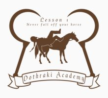 Dothraki Academy GOT T Shirt by Fangpunk