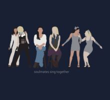 Brittana - Duets Composite [Soulmates Sing Together] Minimalist design by Hrern1313