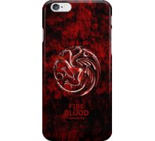 Game Of Thrones Targaryen Fire and Blood iPhone Case/Skin