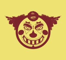 Evil face clown by CMProductions