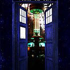 InsideTardis Doctor Who in Space  by neutrone