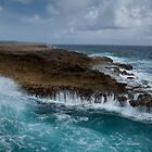 Breaking waves by Ralph Goldsmith