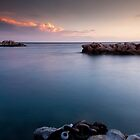 Warm clouds in Curacao by Ralph Goldsmith