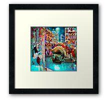 Carnival Moon Framed Print
