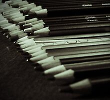 Pencils by helenthedoodler