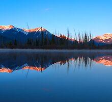 Reflecting Blues by JamesA1