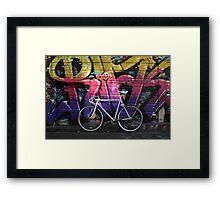 Fuji Feather Artist Alley SF Framed Print