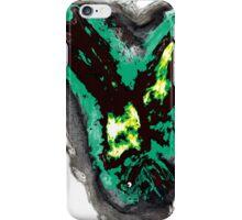 Gothic green phoenix iPhone Case/Skin