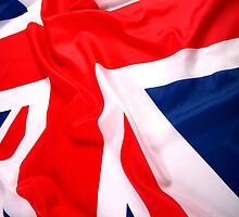 Waving UK Flag iPhone Case by AussieAck