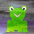 Frog in Fog by cathyjacobs