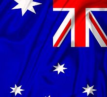 Waving Australian Flag iPhone case by AussieAck