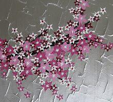 zen Japanese Cherry Blossom tree by cathyjacobs