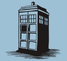Dr Who's Tardis by Gabrielle Boucher