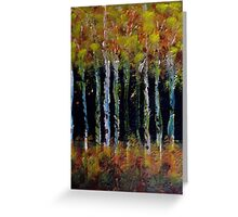 All Natural Forest Fire Greeting Card