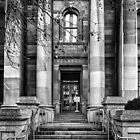 Entrance to the Legislative Council Parliament House South Australia. by Nick Egglington