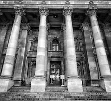 Parliament of South Australia pillars. by Nicholas Griffin