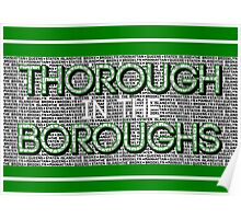 Thorough in the Boroughs Poster