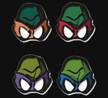 TMNT- Cartoon.  by JordanMay