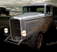 32 5 Window Coupe Rainy Day Cruise by ChasSinklier