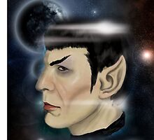 Grace your iPhone with everyone's favorite Vulcan- Spock  by Alex Mathews