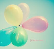 Balloon Love  by Nicola  Pearson