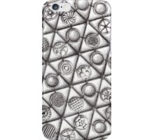 Repeating forms - Triangles iPhone Case/Skin