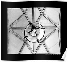 Coe Hall Historic House Museum Vintage Wrought Iron Ceiling Lantern - Upper Brookville, New York Poster