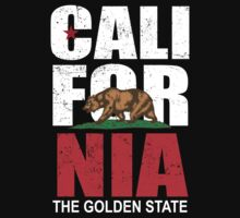 California The Golden State by KDGrafx