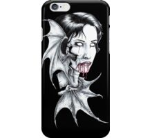 Portrait of a Vampire iPhone Case/Skin