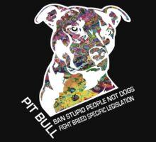 Pitbull BSL White by Mcflytrek