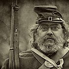 Portrait Of A Union Soldier by Pat Abbott