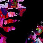 Jimi Hendrix Purple Haze by justtees