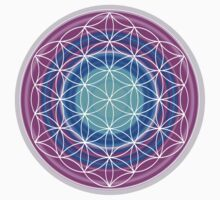 Flower of Life Sacred Geometry 2 T-Shirt