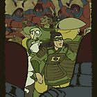 Legend of Green Lantern-Manhunter Equalists by dramaelfie