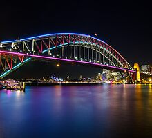 Vivid Sydney 2013 - Harbour Bridge by Andi Surjanto