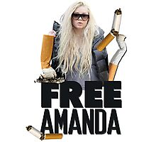 Free Amanda Photographic Print