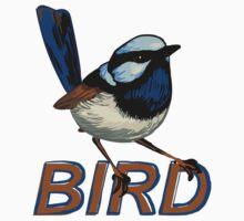 BIRD - Fairy Wren (Male) Kids Clothes