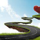 The road to Heart tree by jordygraph