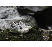 pbbyc - Nikes Off My Feet Photographic Print