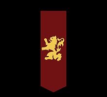 Game of Thrones - house Lannister sigil by housegrafton