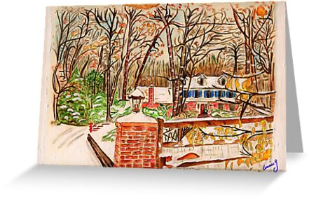 Winter House by Anne Gitto