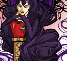 Wicked Queen Nouveau Sticker