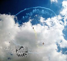 skydivers  ll by LoreLeft27