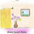 Home Sweet Home Illustration by rafiashujaat